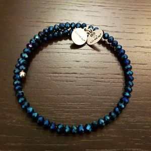 Blue Alex and Ani wrap